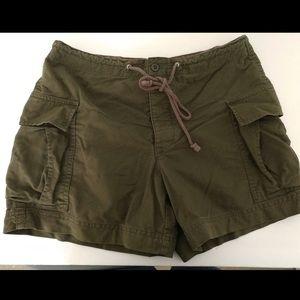 J. Crew women's cargo shorts 100% cotton Small